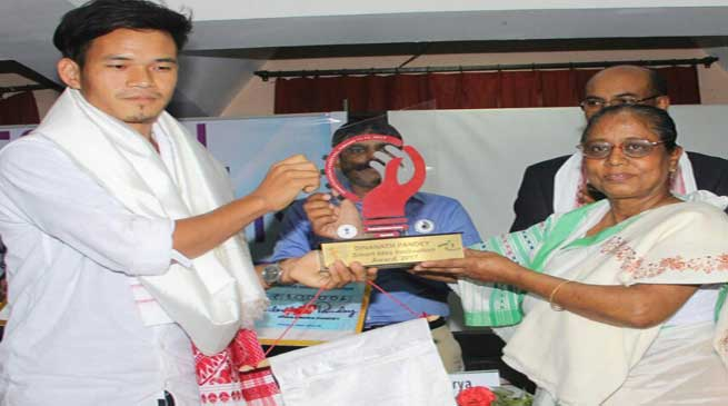 Arunachal Pride- Anang Tadar who invented gadget For Blind