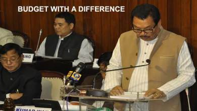 Arunachal- Budget 2017-18 With a Difference