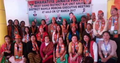 Arunachal BJP Mahila Morcha Calls Active participation of Women in Political and Social Issue