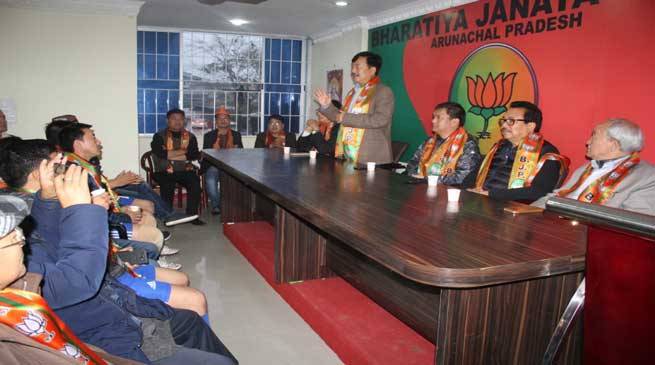 Tapir Gao and Pema Khandu Congratulates PM Modi