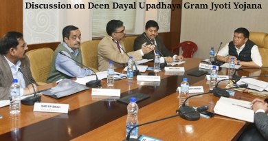 Khandu Discuss on Deen Dayal Upadhaya Gram Jyoti Yojana