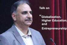 "Photo of KU organises talk on ""Globalization, Higher Education and Entrepreneurship"""