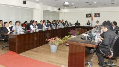 Khandu Hold Marathon Review Meeting with GOS