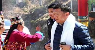 Tawang- Tibetan New Year Losar-2144 Celebrates at Jang