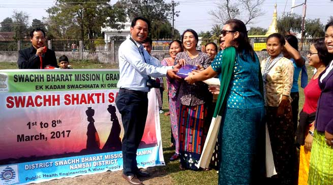 International Women's day observed in Namsai