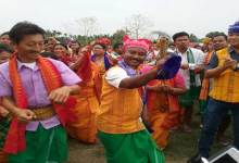 Photo of Rongjali Bwisagu (Bihu) grips fever in Kokrajhar