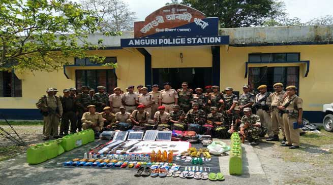 Army and Assam Police Bust NDFB (S ) Camp, Recover Arms and Ammunition