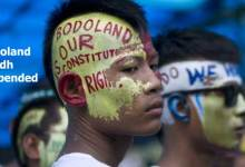 Bodos suspends 24hrs proposed Bodoland Bandh