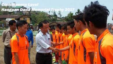 Photo of Constituency Level Hangpan Dada Memorial Trophy 2017 kicked off