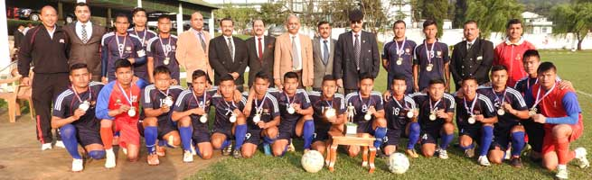 Inter Formation Eastern Command Football Championship 2017-18