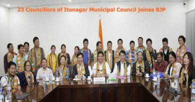 23 Councillors of Itanagar Municipal Council joines BJP