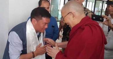 Dalai Lama reaches Guwahati, China again Warns India