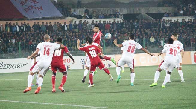 Match Report- Shillong Lajong FC draw against Mohun Bagan