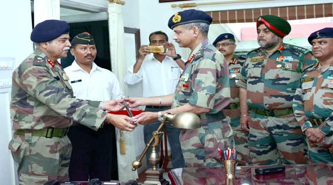 Maj Gen Arun Kumar takes command of 51 Sub Area