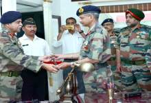 Photo of Maj Gen Arun Kumar takes command of 51 Sub Area