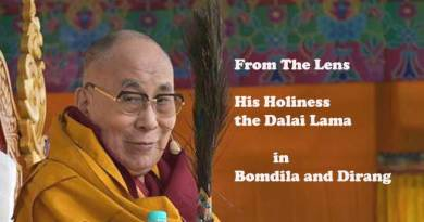 From the Lens- Dalai Lama in Bomdila and Dirang
