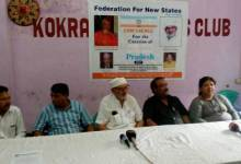 Demand of Bodoland is genuine- Federation of New States