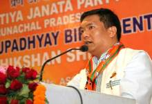 "Photo of Khandu  Explain his "" Vision For Development of Arunachal"" in BJP 'Prashikshan Shivir'"