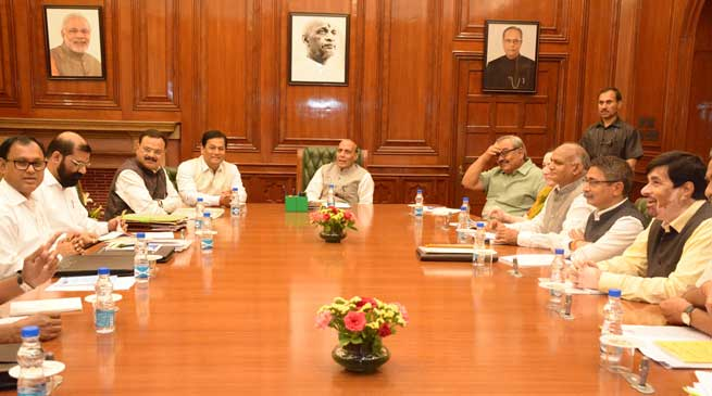 Spirit of Assam Accord will not be diluted at any cost: Rajnath Singh