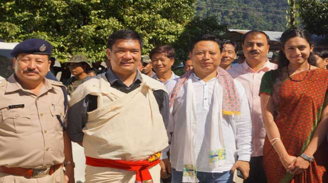Khandu Sanction New PS for Thrizino with 49 manpower