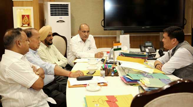 Khandu issues directive-Expedite establishment of STPF