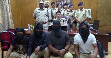 Arunachal Police busted Gang of four in Director of Audit & Pension attack case