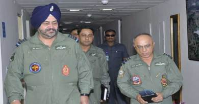 Air Chief on a 2 days visit to Eastern Air Command HQ