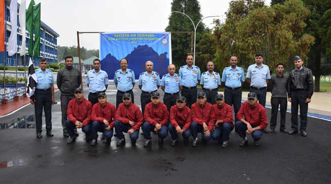 Airmen goes for High Altitude Trekking Expedition