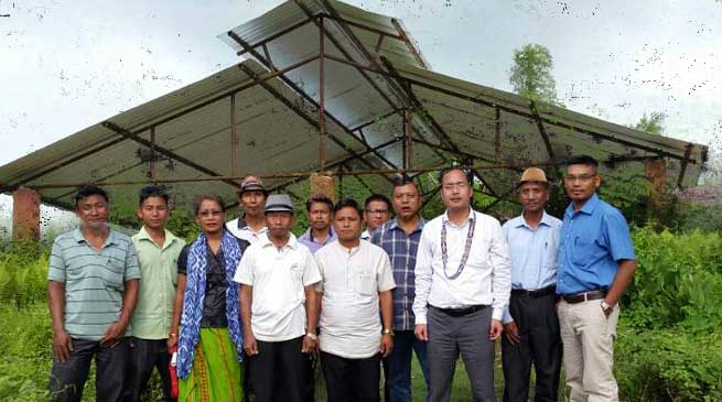 Donate land for development of Kanubari township- Wangsu