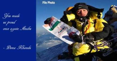 Pema Khandu congratulates mountaineer Anshu Jamsenpa