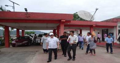 Rebia inspects infrastructure for functioning of Divisional Commissioner West