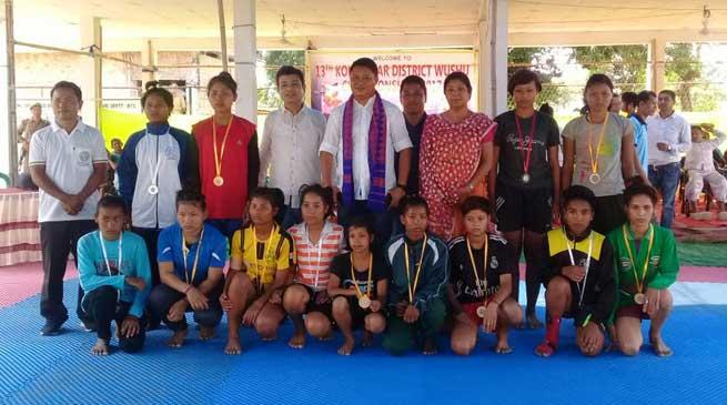 Kokrajhar- Wushu championship concludes