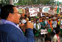 Photo of Assam- ABSU Organises Mass Gathering on Demand of Bodoland