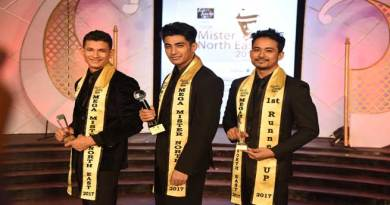 Suman from Manipur wins 8th Fair & Lovely Men Mega Mister North East