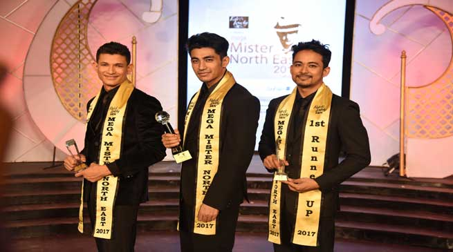 Suman from Manipur wins 8th Fair & Lovely Men Mega Mister North East