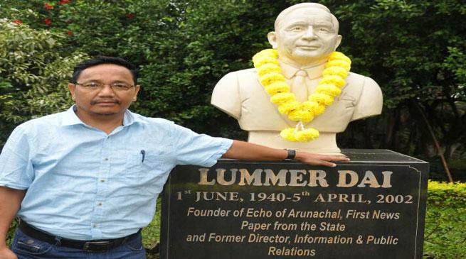Sahitya Surjya Luminous Lummer Dai- The Literary Doyen of Arunachal