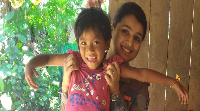 Army Doctors bring back little Seema Boro from the brink of death