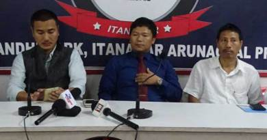 AAPSU demand chakma and Hajong refugee should go back