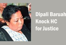Photo of Dipali Baruah Knock HC for Justice