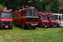 Photo of Fire Brigade and Rescue Van standing idle