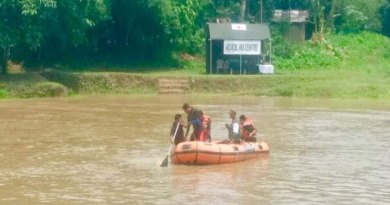 Joint Exercise on Flood Rescue by Army and Civil Admin