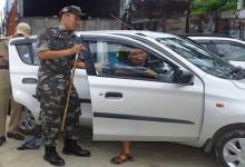 Law is equal to all- Capital police intensified implementing the traffic rule