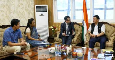 Khandu keen on joining hands with UK Govt in the field of Education