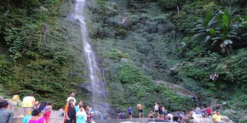 Aka Elite Society begins waterfall renovation to attract tourist