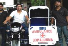 Photo of WATCH VIDEO- Man builds motorbike ambulance to aid rural population