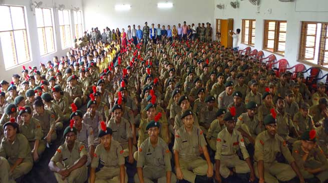 10 days combined Annual Training Camp of NCC inaugurated