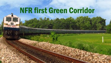Photo of NFR first Green Corridor to be commissioned in Chaparmukh-Silghat Town section