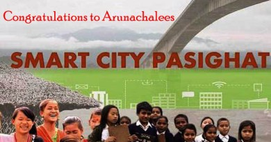 Pasighat of Arunachal Pradesh gets place in Smart city List
