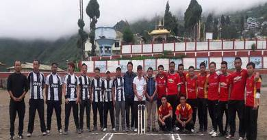 Bomdila cricket premier league held at Buddha stadium