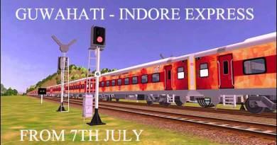 Prabhu will Flag off Guwahati-Indore Express on tomorrow